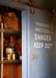 Növényvédő szerek tárolásáról